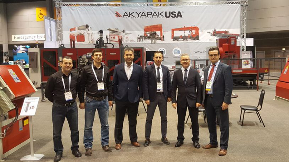 AKYAPAKUSA attended Fabtech again this year