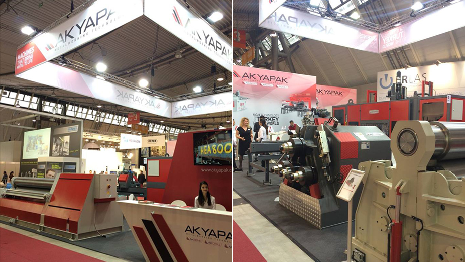 Akyapak Makine was at Blechexpo Stuttgart this time