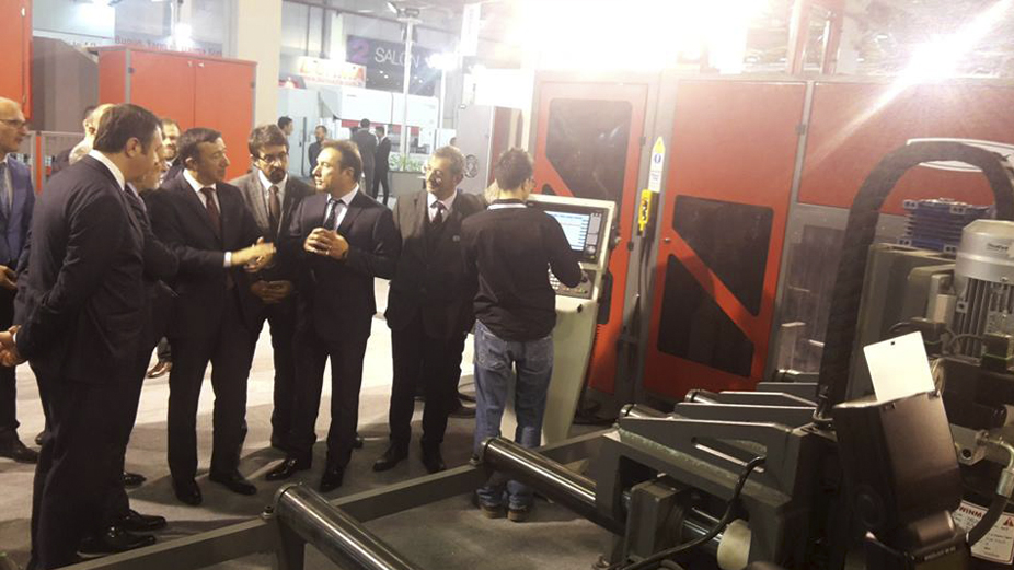Akyapak put its mark in Bursa Metal Processing fair