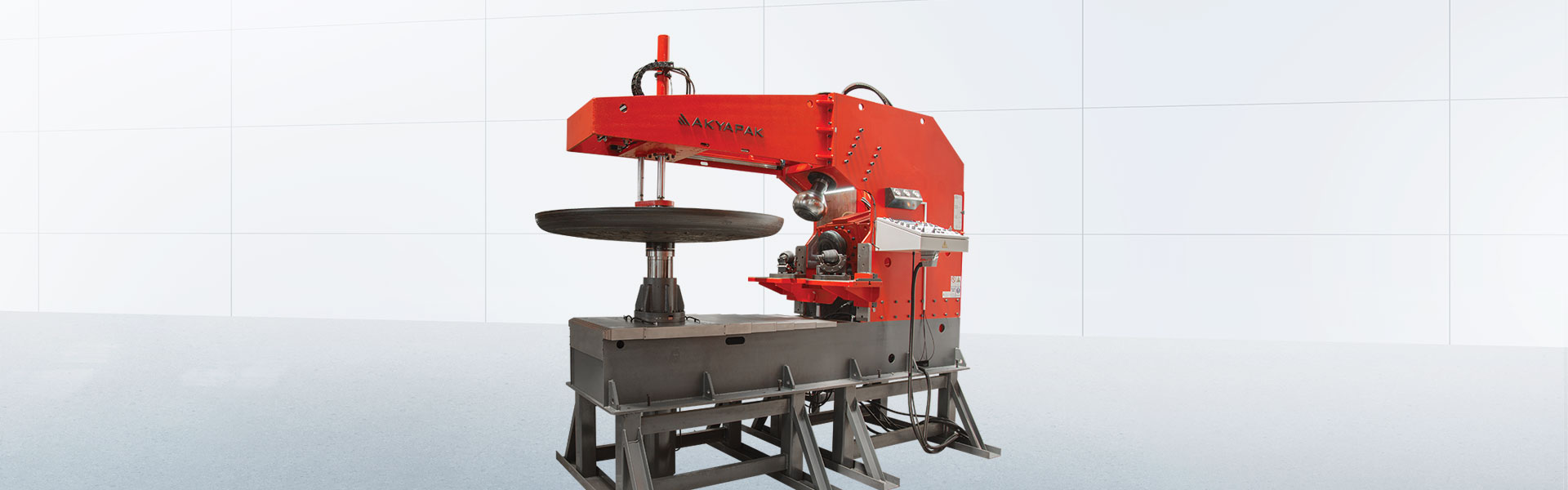 BMB 8X3000 Flanging Machine