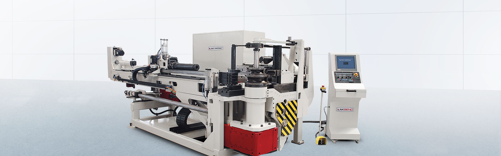 ABM E-80 All Electric Tube & Pipe Bending Machines