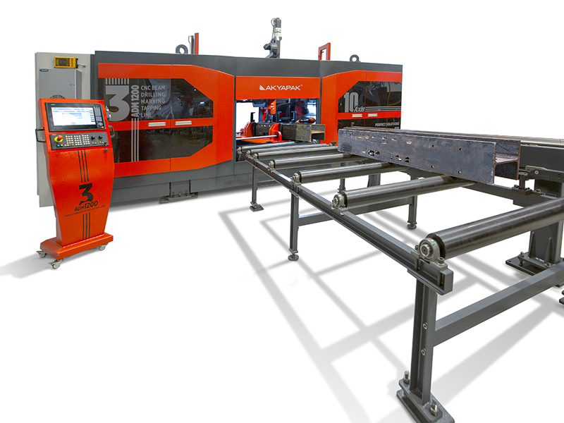 3ADM 10 Axis Three Spindle Cnc Drill Lines