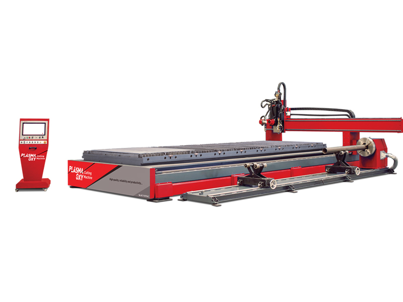 Plasma Tube And Profile Cutting Machine